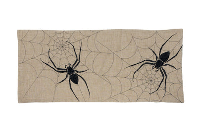 XD18803 Halloween Creepy Spiders Table Runner