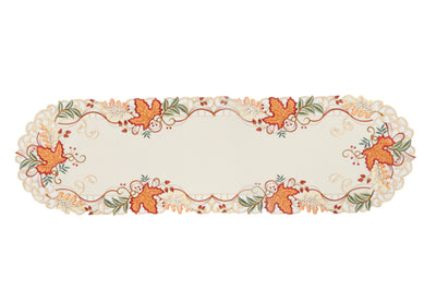 XD18808 Falling Leaves Table Runner