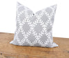 XD19200-Piluki Leaf Crewel Embroidered Pillow, 20 by 20-Inch With Feather Insert