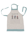 XD19813-Animal's Fun Holiday Party Embroidered Apron Adults Size 30 by 26-Inch