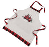 XD19884-Santa Claus Riding On Car Christmas Apron Adults Size 30 by 26-Inch