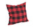 XD19888-Holiday Plaid Pillow 14 by 14-Inch