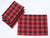 XD19888-Holiday Plaid Placemats 14 by 20-Inch, Set of 4