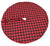 XD19888-Holiday Plaid Tree Skirt 56 Inch Round