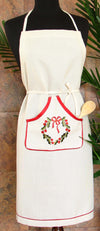 XD68022 Country Wreath Apron