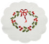 XD68022 Country Wreath Doilies, Set of 4