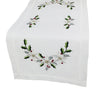 XD68036 Country Poinsettia Table Runner