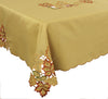 XD75018 Bountiful Leaf Tablecloth