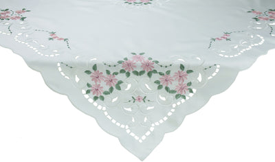 "XD80506 Daisy Collection Table Topper, 34""x34"""