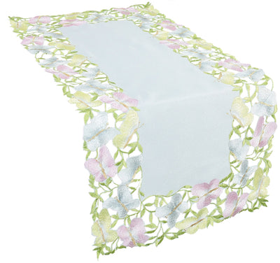 XD8190 Butterfly Minuet Table Runner