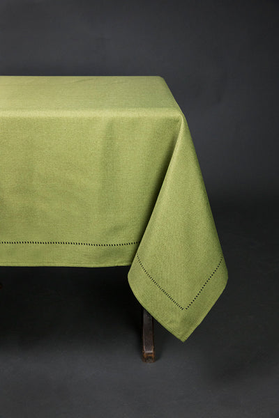 XD915918  Melrose Hemstitch Tablecloth