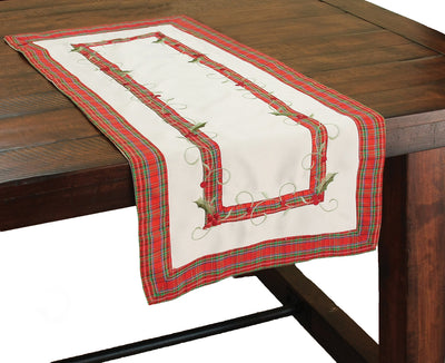 XD99904 Tartan Ribbon Table Runner