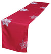 XD14103 Snowflake Table Runner