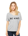 Be Kind Camo Ladies Tshirt