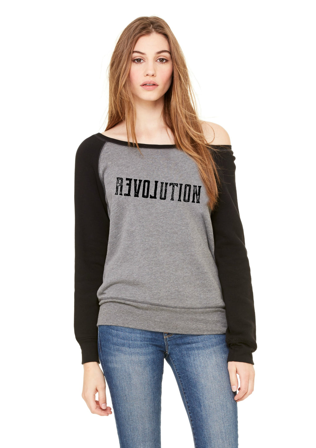 Revolution Ladies Slouchy Sweatshirt
