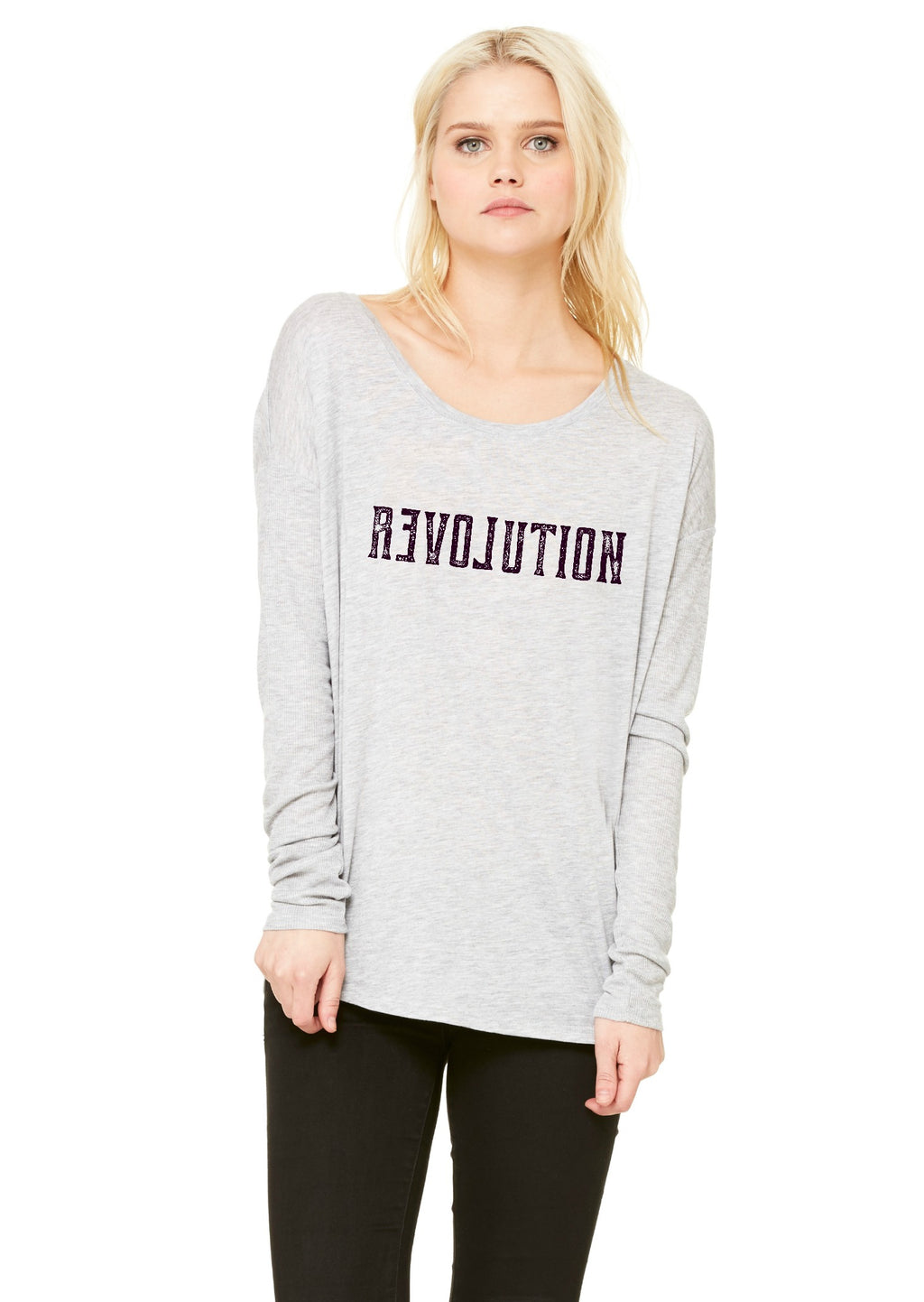 Revolution Ladies Long Sleeve Tshirt