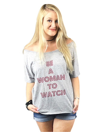 Woman to Watch Christian T shirt
