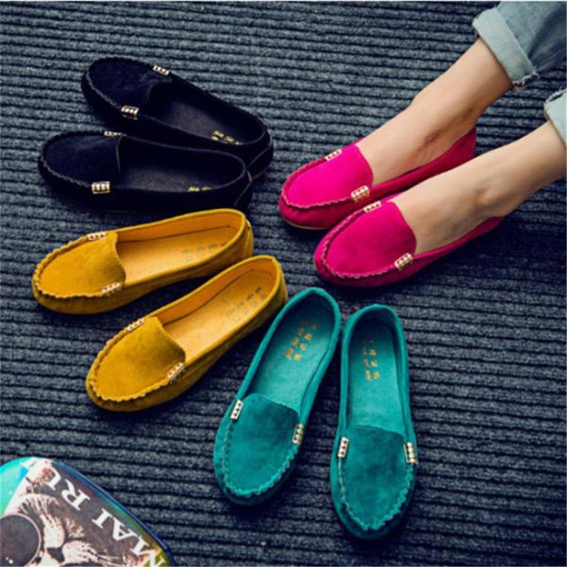 Women's Suede Loafers
