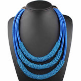 African Choker Necklace