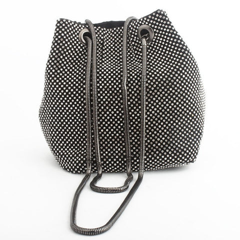 Faux Diamond Tot Bag