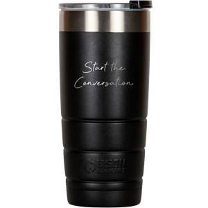 "Custom Operation Coffee Roaster ""Start the Conversation"" 22 OZ Bison Tumbler"