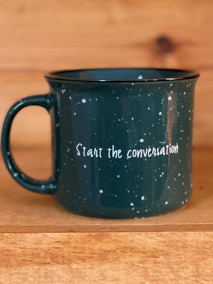"Operation Coffee ""Start the Conversation"" Camp Mug"