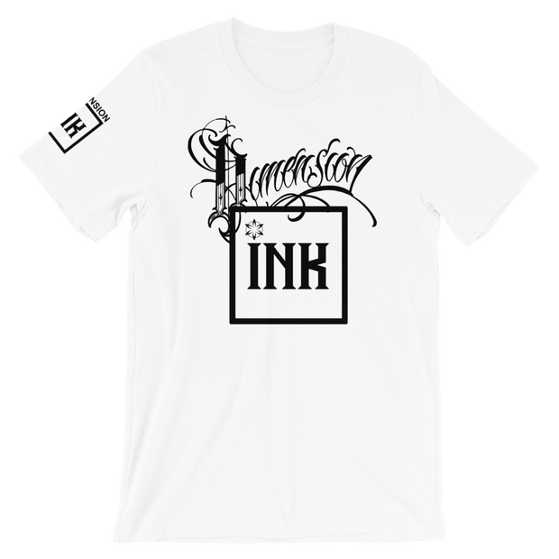Dimension Ink Short-Sleeve Unisex T-Shirt
