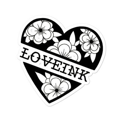 Love Ink stickers