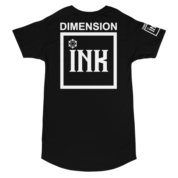 Dimension Ink Long Body Urban Tee
