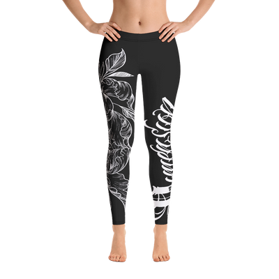 Dimension Ink Flower Leggings