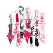 Knifes stickers