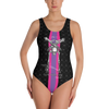 Contorture One-Piece Swimsuit: SuperStripe Edition