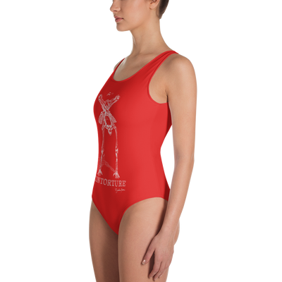Contorture One-Piece Swimsuit: BabeWatch