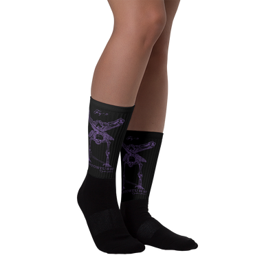 Sock: BlackSabbathPurple