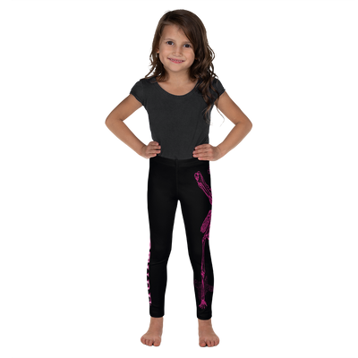 Kids CONTORTURE Leggings: Hot Pink