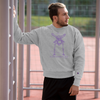Champion Contorture Sweatshirt: Black Sabbath Purple (USA only)