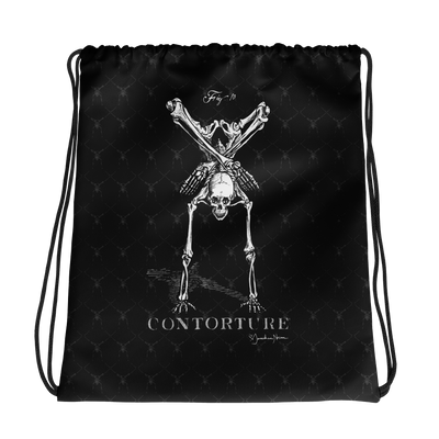 Contorture Drawstring Bag: BONEY