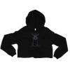 Cropped CONTORTURE® Hoodie: Black Sabbath Purple