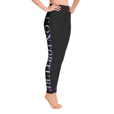CONTORTURE Leggings:BLACK SABBATH PURPLE