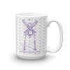 Contorture Mug: Black Sabbath Purple Contortion Skeleton