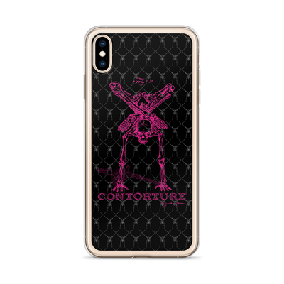 Contorture iPhone Case: Pinky Contortion Skeleton