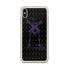 Contorture iPhone Case: Black Sabbath Purple Contortion Skeleton