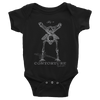 Baby Short Sleeve Bodysuit: BONEY