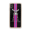 Contorture iPhone Case: SuperStripe Contortion Skeleton
