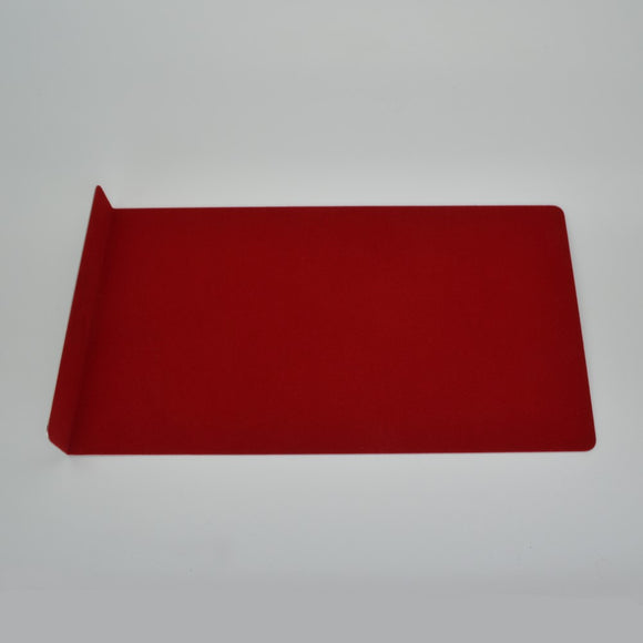 Stainless Steel Felt Lined Window Shield (400mm x 230mm x 1mm)