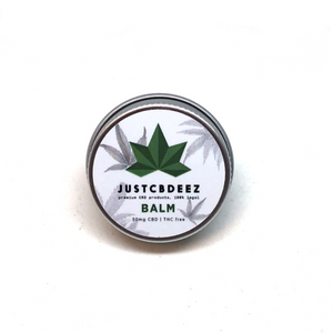 Justcbdeez Balm Mini 50mg CBD