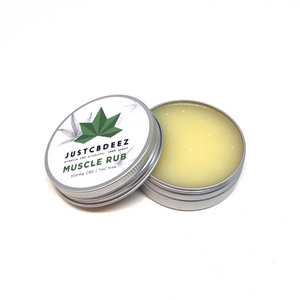 Justcbdeez Muscle Rub 300mg CBD