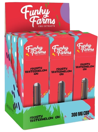 Funky Farms - Frosty Watermelon x9 - justcbdeez