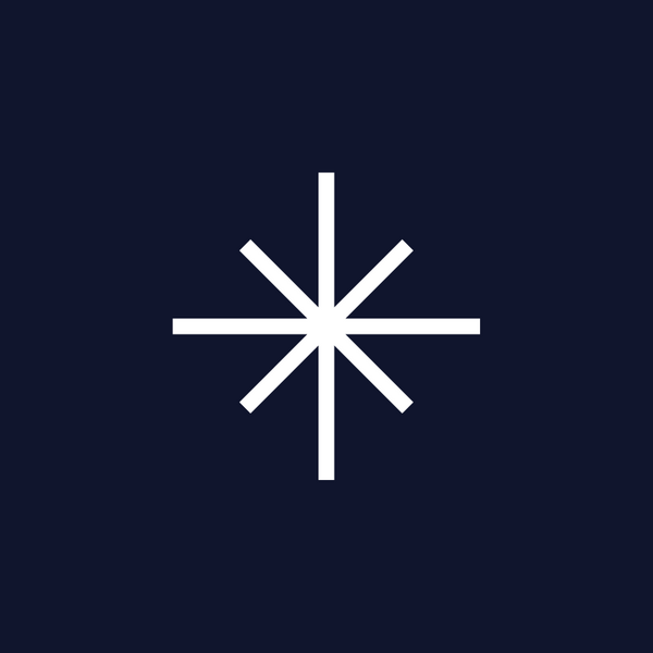 Embodying the Gospel logo of a white starburst on a navy background