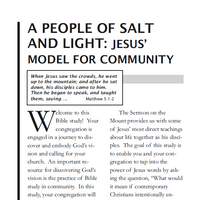 People of Salt and Light